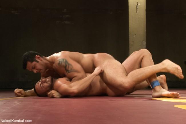 Homoerotic boys wrestling nude