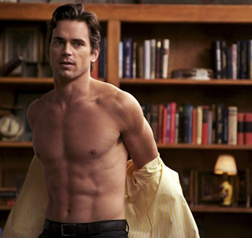 matthew bomer shirtless white collar