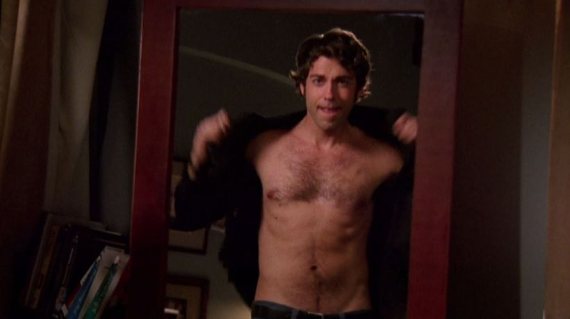 zachary levi shirtless chuck